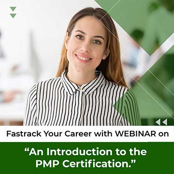 Enroll Now! for a Webinar on Project Management PMP Certification Introduction and Requirements