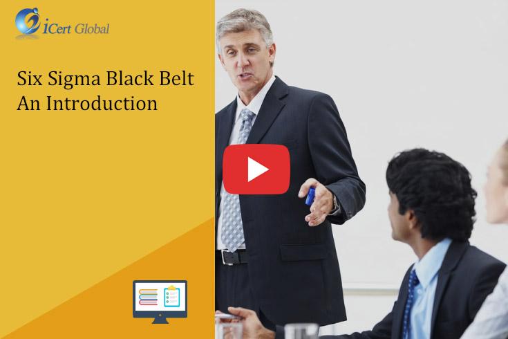 Lean Six Sigma Black Belt Certification Training Courses In Icert