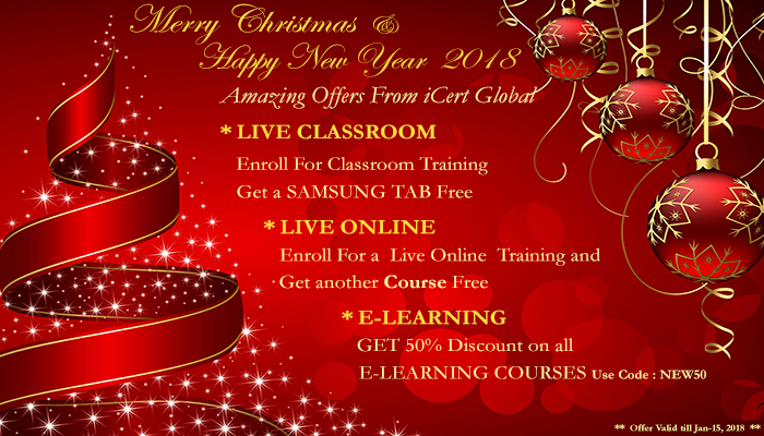 Merry Christmass and Wish You A Happy New From iCert Global
