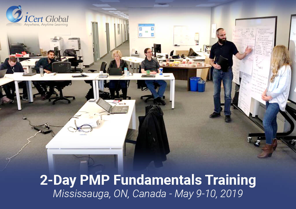 PMP Fundamentals Training by iCert Global in Mississauga ON Canada May 2019