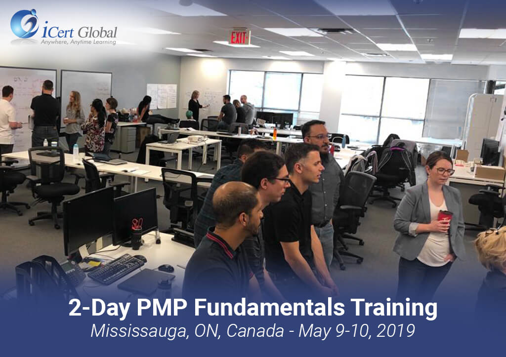 2 Day PMP Fundamentals Training Classroom Course Mississauga ON Canada by iCert Global