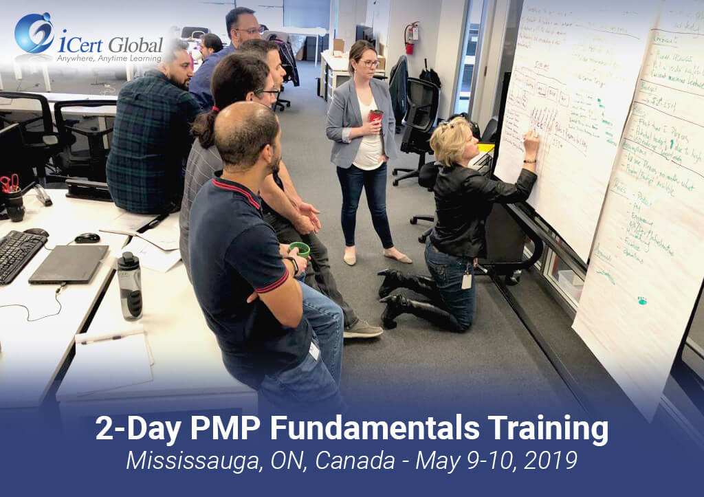 PMP Fundamentals Classroom Training Course Mississauga ON Canada May2019 iCertGlobal