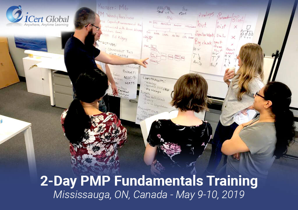 PMP Fundamentals Training by iCert Global Mississauga ON Canada May 2019