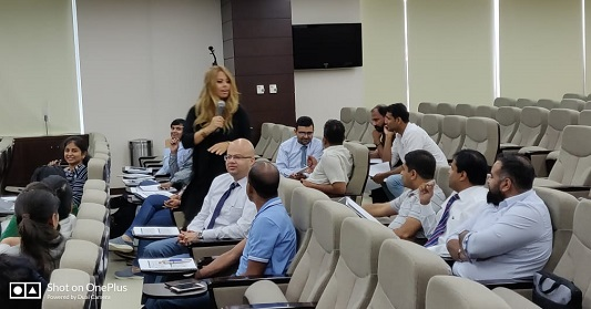 CSM Certification Training conducted for Enterprise customer Emaar Properties in Dubai, United Arab Emirates on May 6-7, 2019