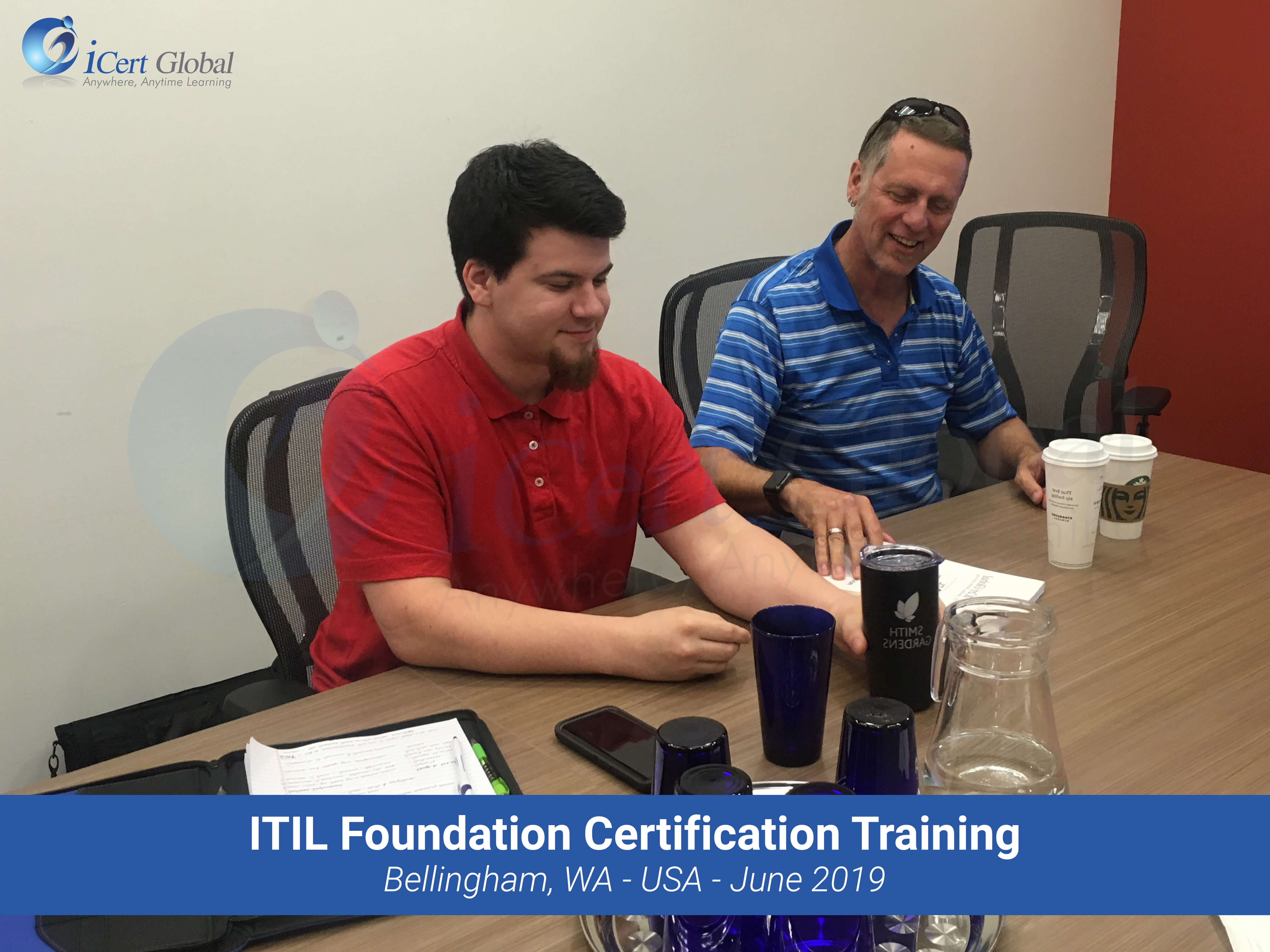 ITIL Foundation Certification Training Classroom Course in Bellingham, WA - June 2019