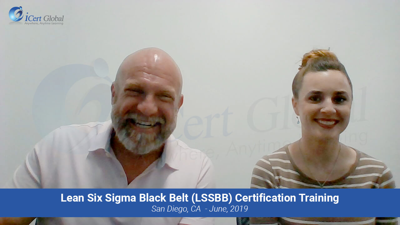 Lean Six Sigma Black Belt (LSSBB) Certification Training Instructor-led Class in San Diego, CA in June 2019
