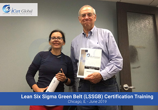 Lean Six Sigma Green Belt (LSSGB) Certification Training Workshop in Chicago, IL - June 2019