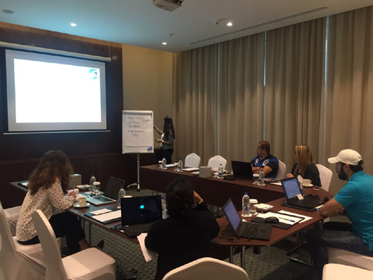 PMP examination training course conducted by iCert Global in Dubai, UAE.