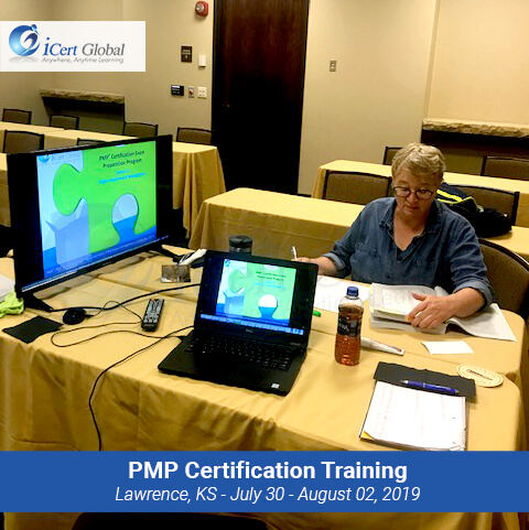 PMP Certification Exam Training Course Lawrence KS USA