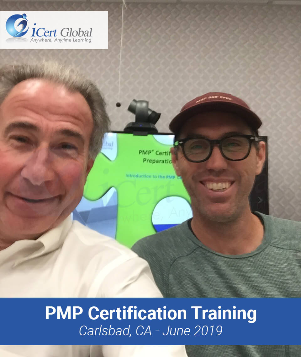 PMP Certification Training Course in Carlsbad, CA in June 2019