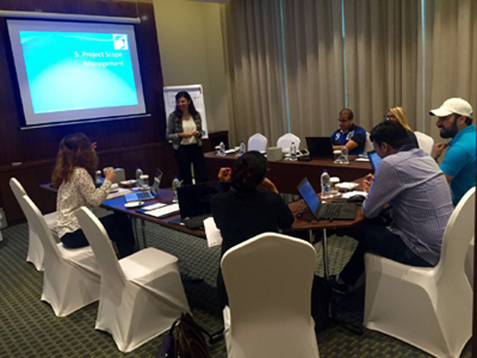 PMP certification exam prep training course in Dubai, UAE by iCert Global.