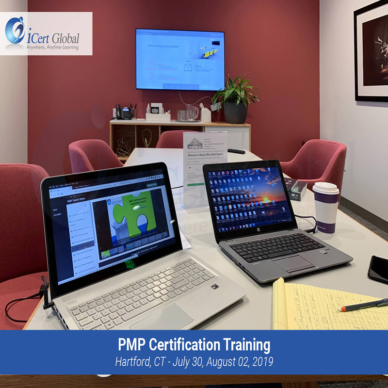 PMP Certification Training Instructor-led Classroom Training Course in Hartford, CT from July 30 to August 02, 2019