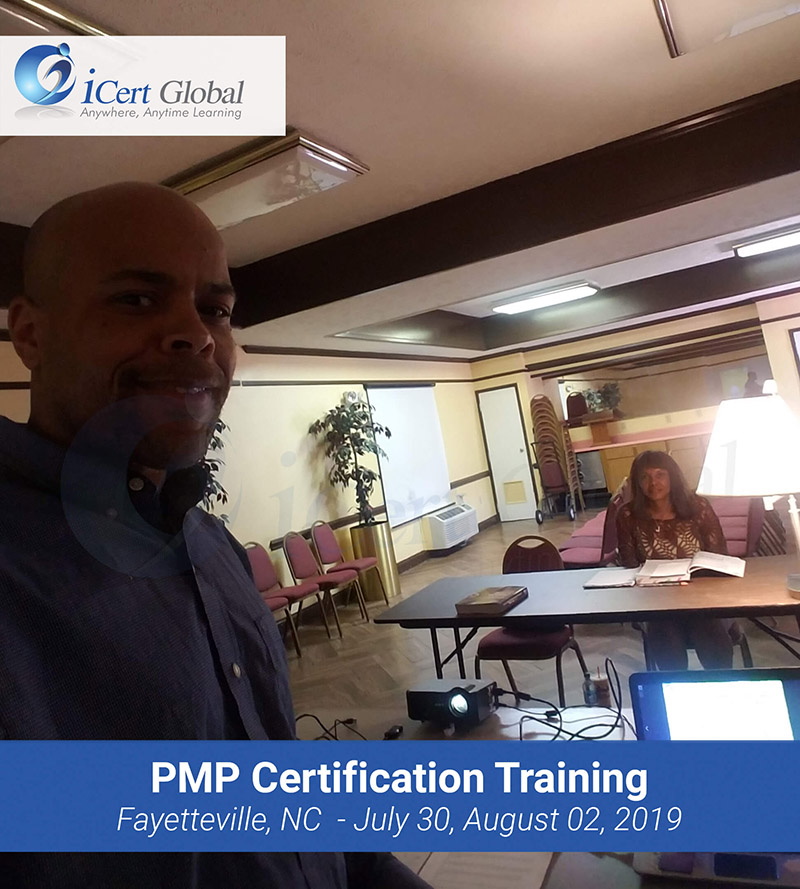 PMP Exam Prep Certification Training Classroom Course in Fayetteville, NC from July 30 to August 02, 2019