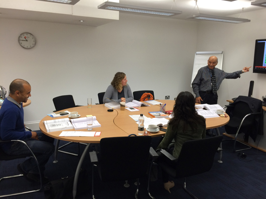 PMP exam prep certification training course in London, United Kingdom by iCert Global in September 2015