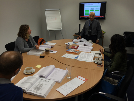 PMP certification training course in London, England by iCert Global