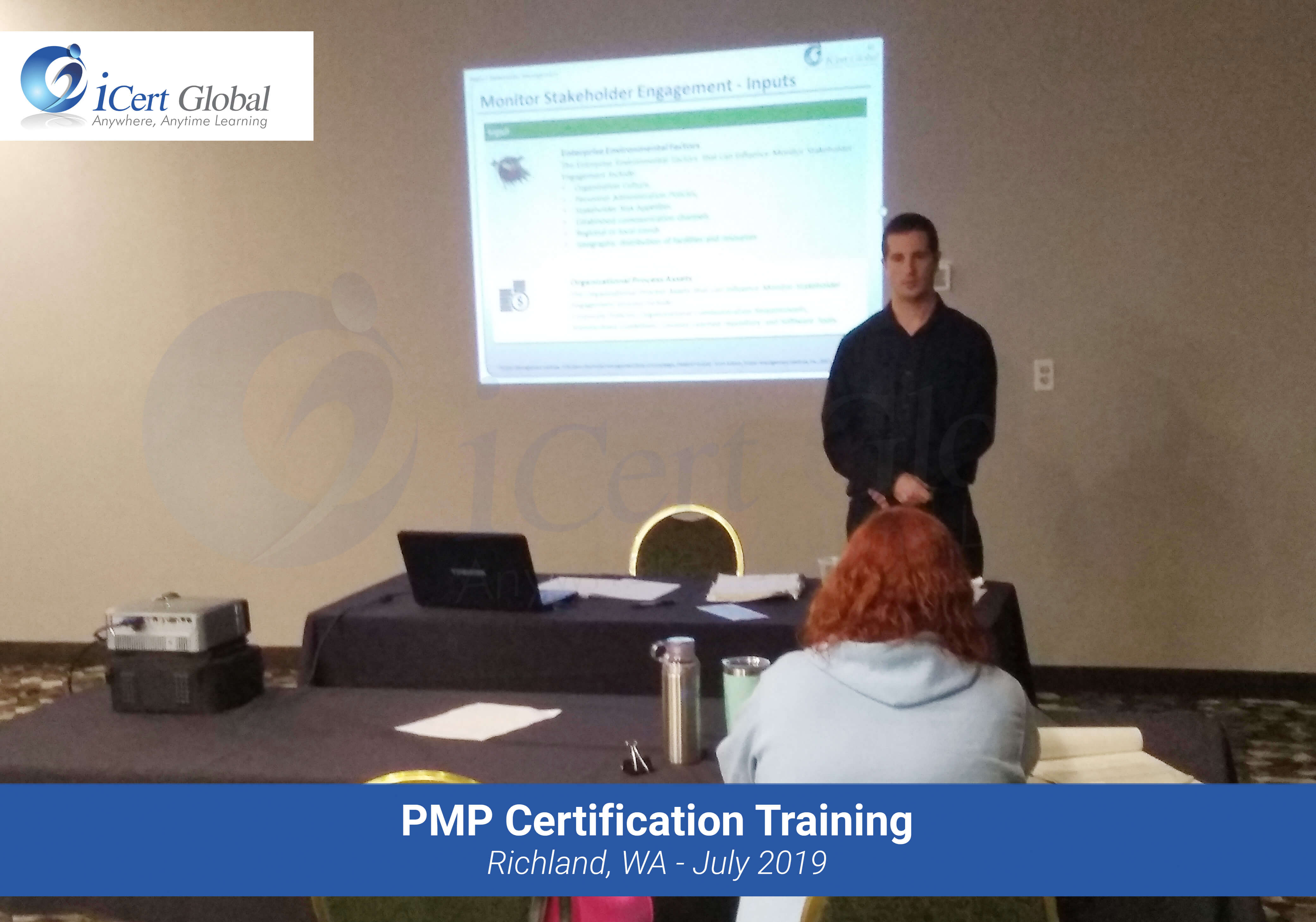 PMP Certification Exam Prep Training Course in Richland, WA in July 2019