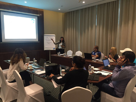 PMP certification training course in Dubai, UAE by iCert Global.
