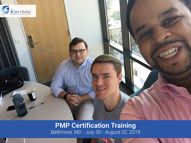 PMP Certification Training Course in Baltimore, MD from July 30-August 02, 2019