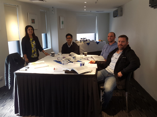 PRINCE2 Foundation and PRINCE2 Practitioner exam prep certification training course by iCert Global in July 2015 in Sydney, Australia